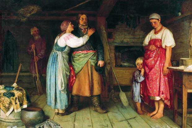 Сморщен, вял и мал. Развестись в Российской империи