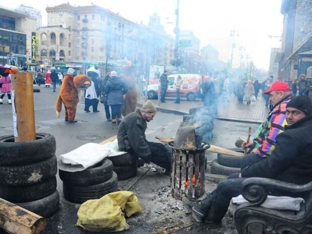 Празднование годовщины Евромайдана превратилось в знаковый день национального позора