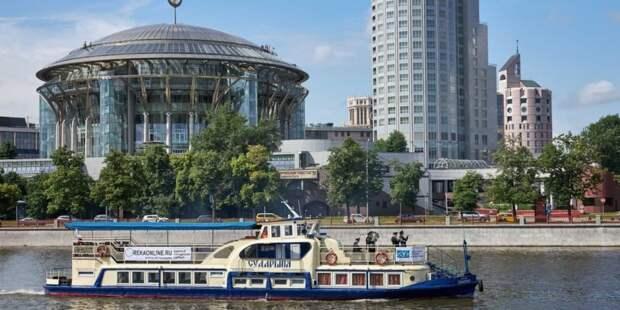 Собянин рассказал о развитии в столице водного транспорта. Фото: М. Денисов mos.ru