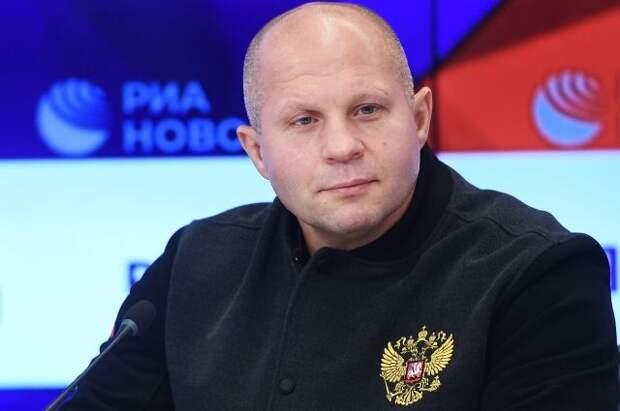 Емельяненко готовится провести свой следующий бой в России