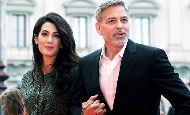 СМИ: Джордж и Амаль Клуни снова ждут близнецов