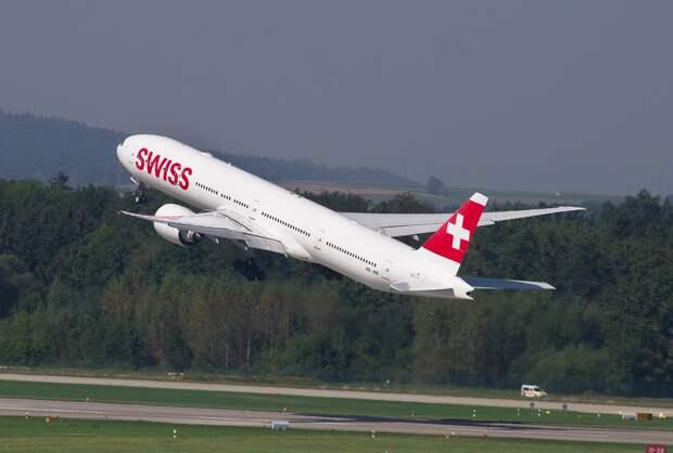 Швейцарская авиакомпания Swiss возобновила полёты из России