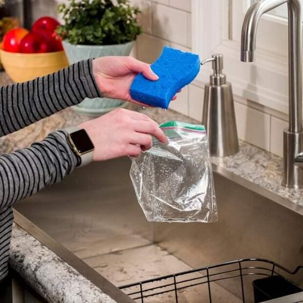 Лайфхаки с посудной губкой, о которых вы должны знать