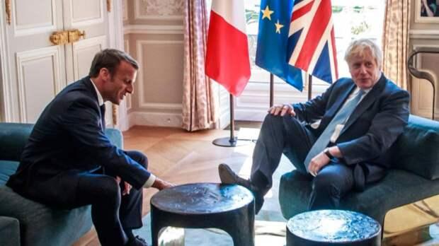 Президент Франции и премьер Великобритании поругались на саммите G7 из-за Brexit