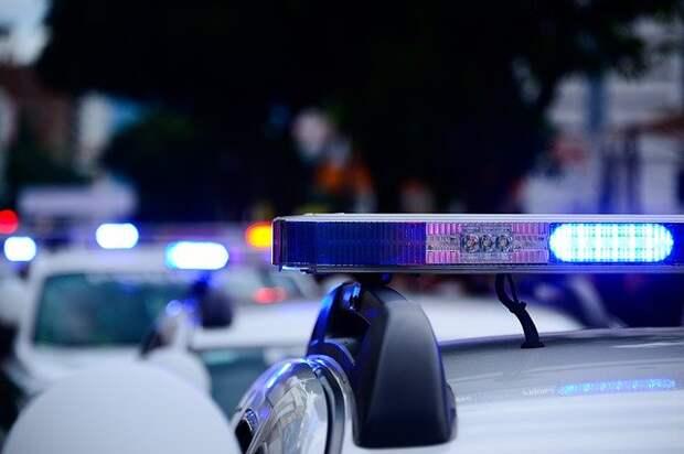 Иномарка врезалась в БМВ на улице Народного Ополчения