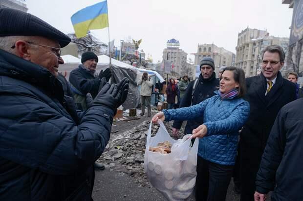 Интересная картинка по Крыму от Виктории Нуланд