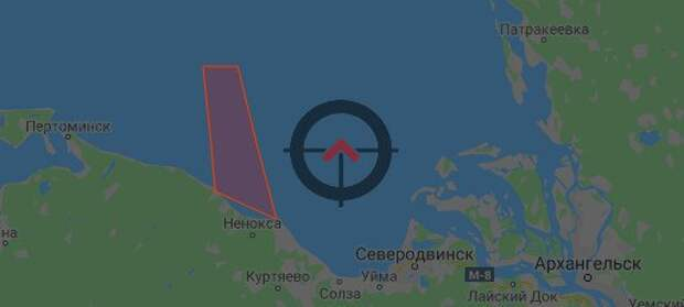 Взрыв крылатой ракеты 9М730 «Буревестник» на 45-м испытательном полигоне ВМФ РФ Ненокса