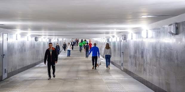 Переход сделали по просьбам жителей СВАО / Фото: mos.ru