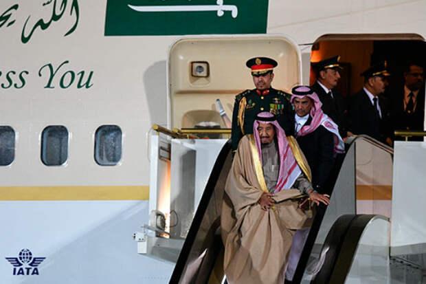 Как путешествует король Саудовской Аравии
