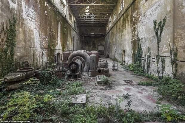 Заброшенная гидроэлектростанция в Италии
