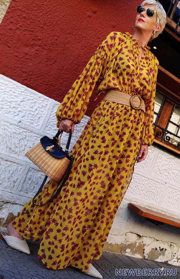 Мода для женщин за 50 от яркой и эффектной испанки Кармен Гимено (Carmen Gimeno)