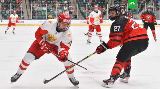 Россияне уступили канадцам в финале юниорского ЧМ по хоккею
