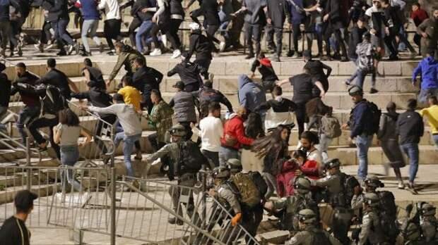 ВВосточном Иерусалиме возобновились уличные беспорядки