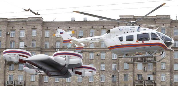 В ЦАГИ разрабатывают многорежимный летательный аппарат «ЭРА»