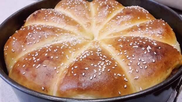 Нежный дрожжевой пирог с мясом: легкое тесто, вкусная начинка