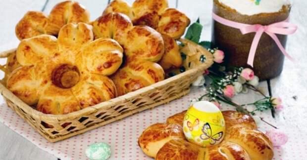 Пасхальные булочки — подставки для яиц