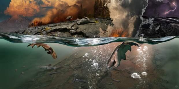 Палеонтологи определили самое крупное массовое вымирание на планете