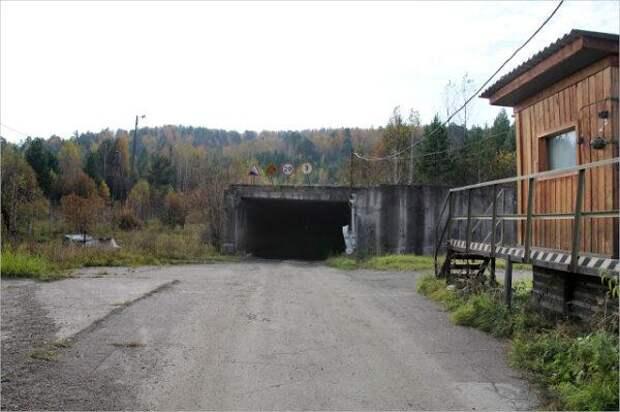 Секретный тоннель под Енисеем