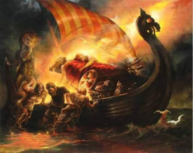 Предания о женидьбе Аттилы, о смерти и обряде погребения