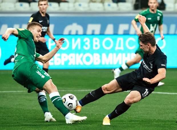 Шатов забил первый гол за «Рубин». «Ротор» проиграл казанцам после карантина