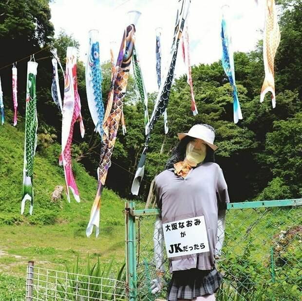 Чучело на японский манер жизнь, подборка, странность, фотография, фотомир, явление, япония
