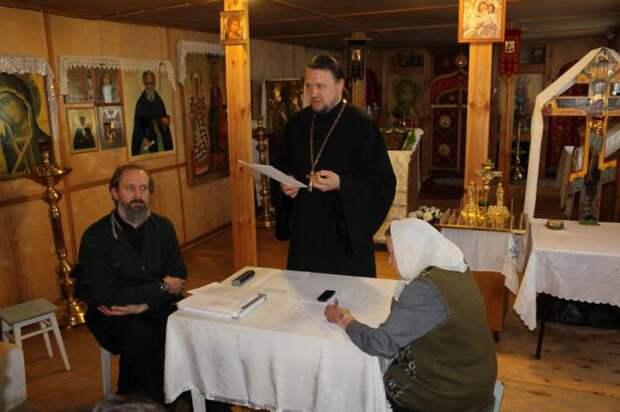 церковный староста в россии