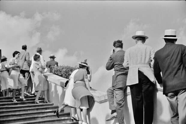 Скачки в парке Хайалиа, Майами, Флорида, апрель 1939 года