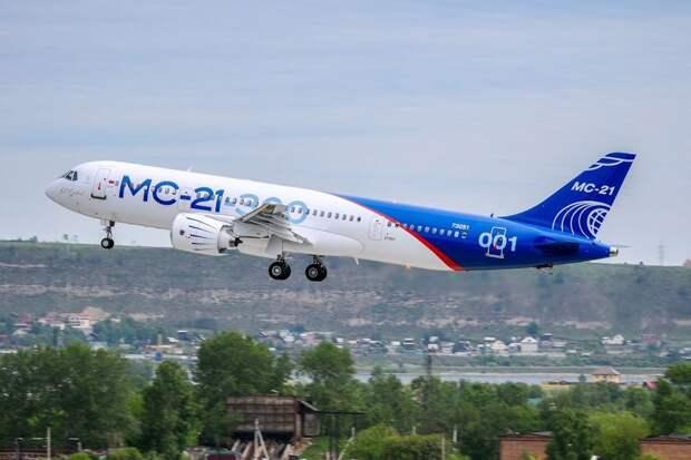 Первый полет принципиально нового самолета МС-21 значит для России многое