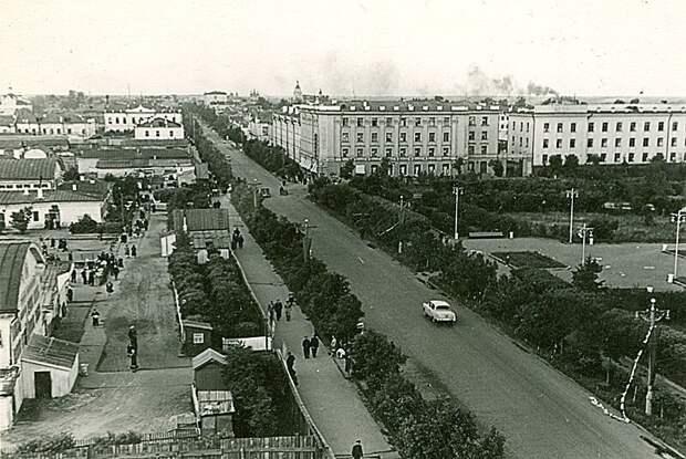 Тюмень, 50-е