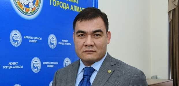 Экс-глава управления жилищной политики Алматы стал акимом Алмалинского района города