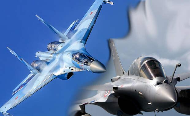 Журнал Military Watch: Французские истребители Rafale померкли на фоне Су-35