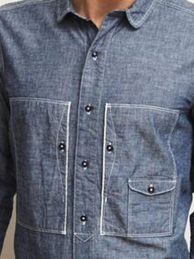 Необычные карманы на рубашках (трафик)