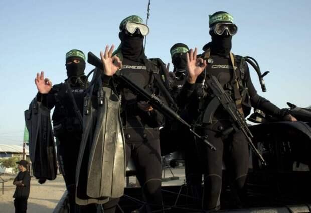Откуда уХАМАС взялись подводные дроны длявойны сИзраилем