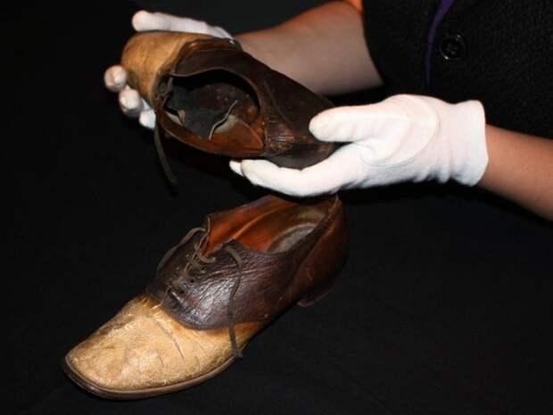 Как грабитель стал парой ботинок и пепельницей