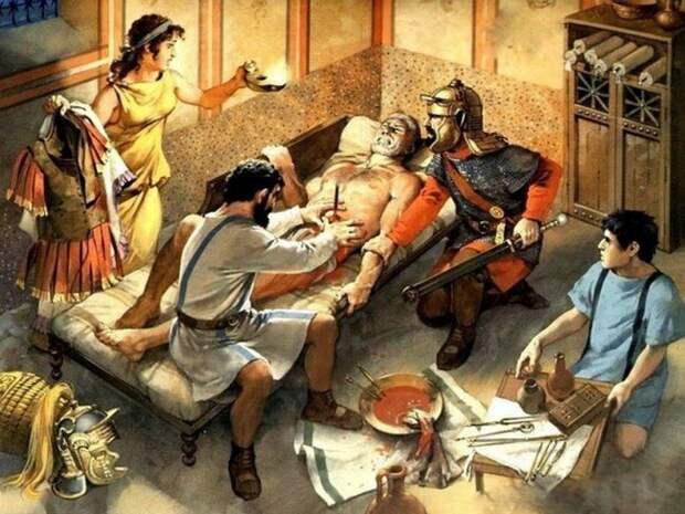 В незапамятные времена медицинские технологии были намного совершеннее