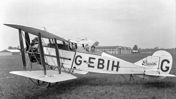 Bristol 89 Advanced Trainer G-EBIH prototype