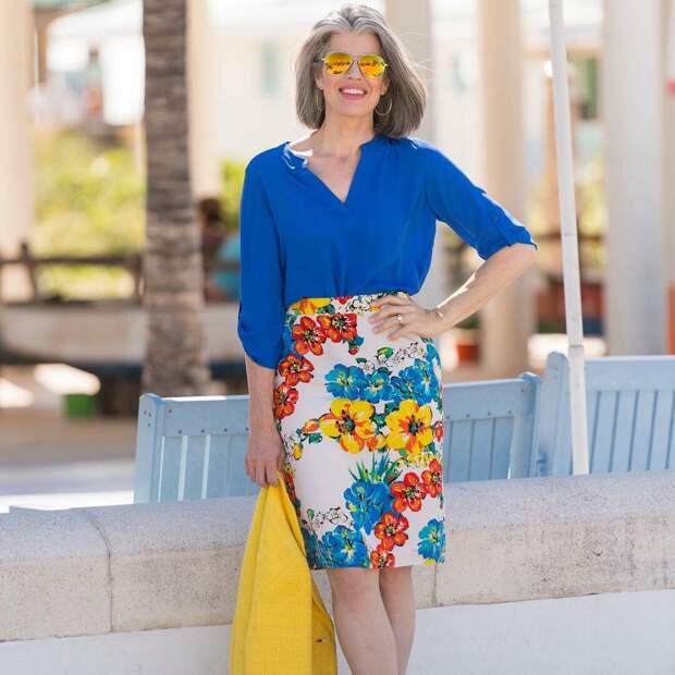 Как подобрать блузку женщинам 60 лет, чтобы выглядеть стильно и привлекательно