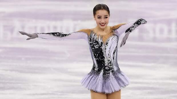 Загитова вспомнила программу «Черный лебедь», с которой она выиграла Олимпиаду