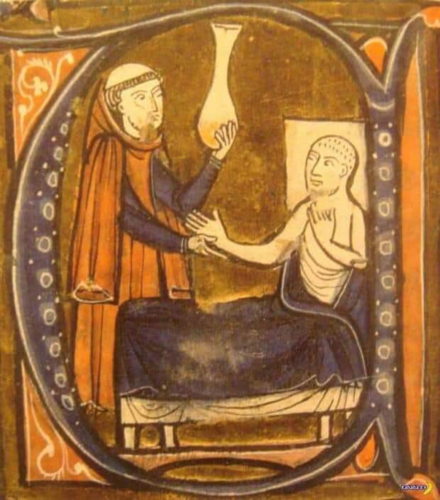 Для чего люди пердели в банки в Среднике века?