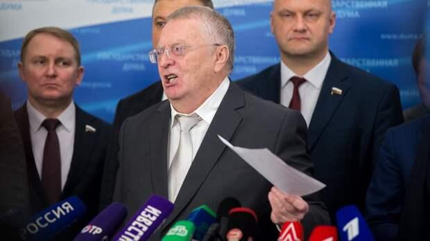 Жириновский назвал условие «уничтожения» Украины РФ