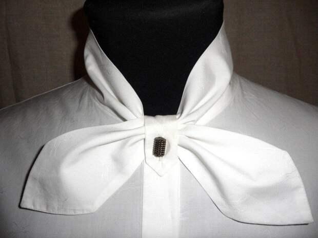 Оригинальный воротничок для стильной офисной рубашки 0