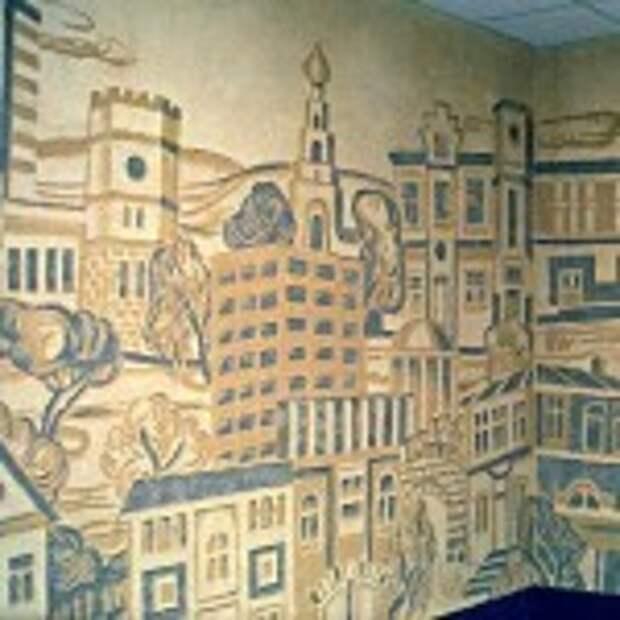 Сграффито — декоративная резьба по штукатурке
