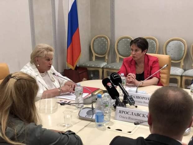 Светлана Разворотнева стала советником омбудсмена по правам человека Москвы. Фото: Екатерина Бибикова