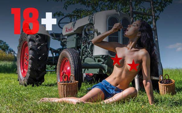 Новый календарь для любителей тракторов (и не только)