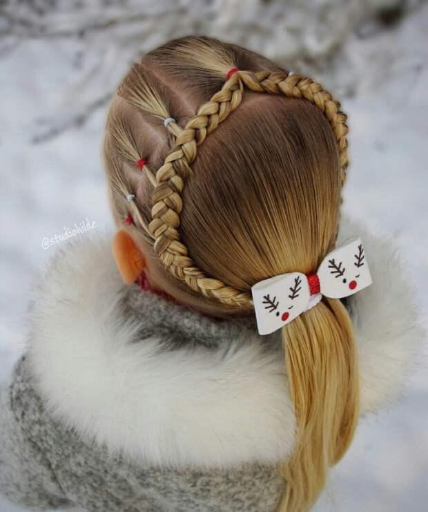 Косички для Снегурочек (подборка)