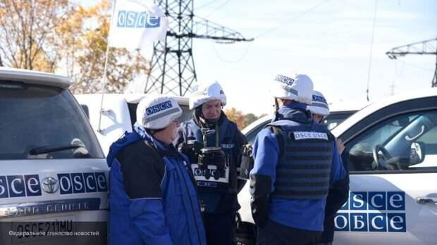 Силовики ВСУ открыли огонь по ОБСЕ в Донбассе