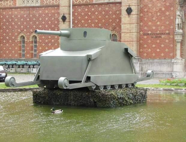 Первые танки: проекты 1841 и 1911