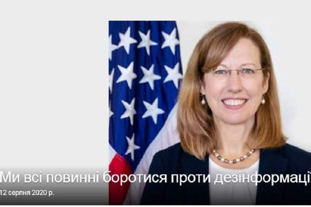 Вассалитет Украины подтверждён временным поверенным в делах США на Украине