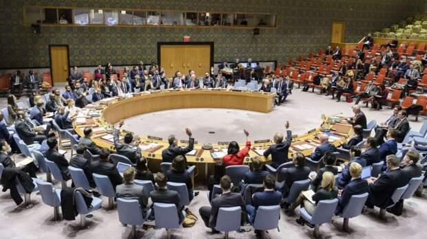 """Российский дипломат Полянский назвал заседаниеСБ ООН """"тошнотворным"""""""