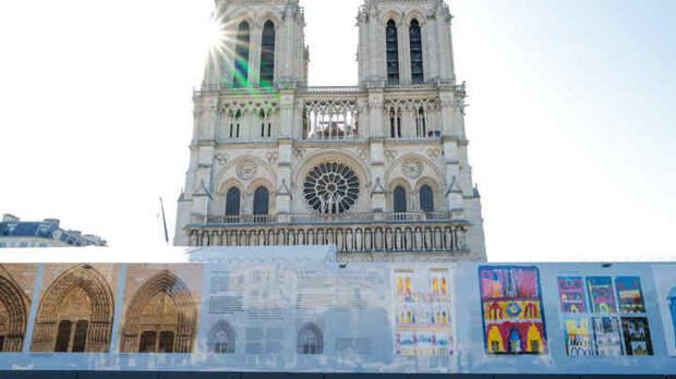Восстановить главный символ Франции помогут русские. Безвозмездно